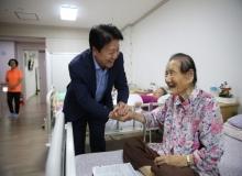 [성주]한가위 맞이 사회복지시설 방문