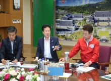 [성주]이병환 군수, 2020년도 국도비 예산확보 위해 도청 방문