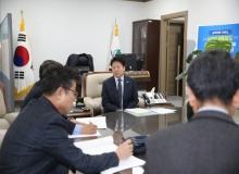 [성주]2020년 재난관리평가, 기관장 인터뷰 실시