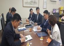[성주]구교강 성주군의회 의장, 지역 현안사업 해결을 위해 국무조정실 방문