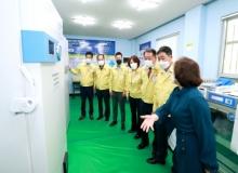 [성주]성주군의회, 코로나19 예방접종센터 현장 점검
